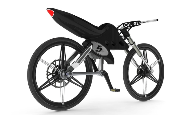 Cafe Styled Ev B Wins Design Award Electric Bike Action