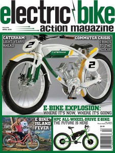 Electric Bike Action April 2014 cover