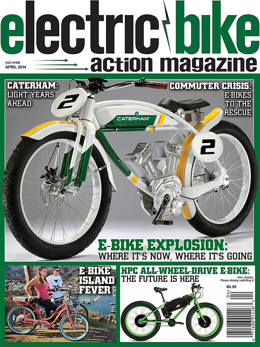 April 2014 Issue Electric Bike Action