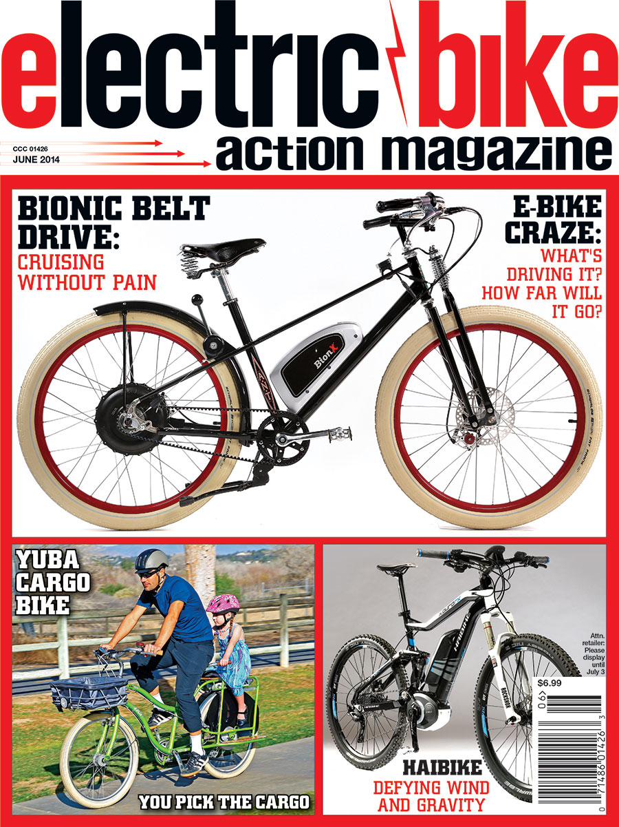 On The Cover Fresh From North American Handmade Bicycle Show Ant S Bionx
