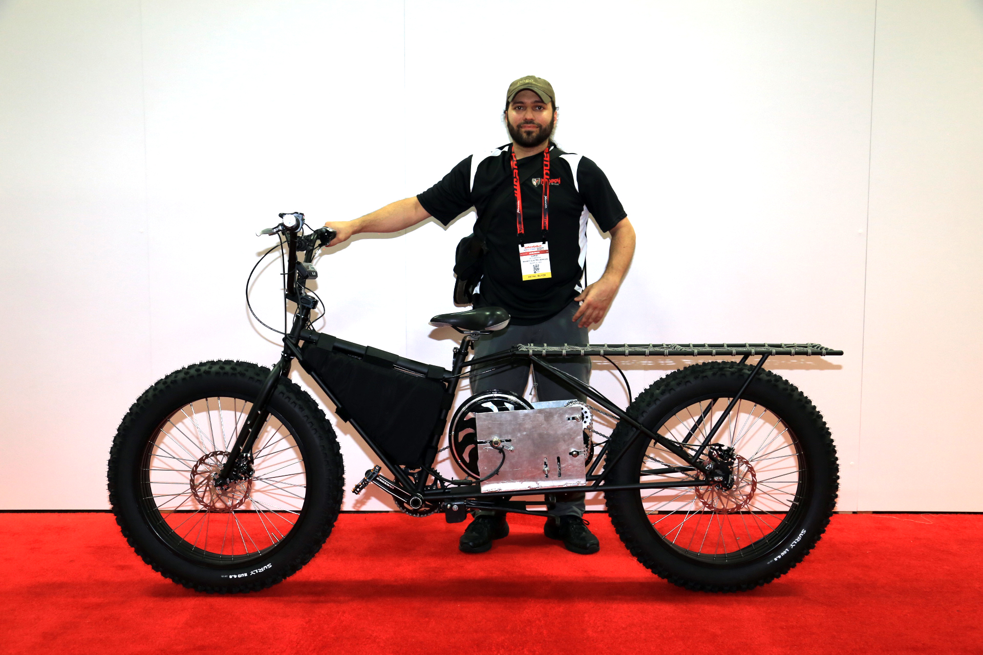 Madboy Monster E Fatbike Electric Bike Action