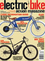 Inside this issue of electric bike action