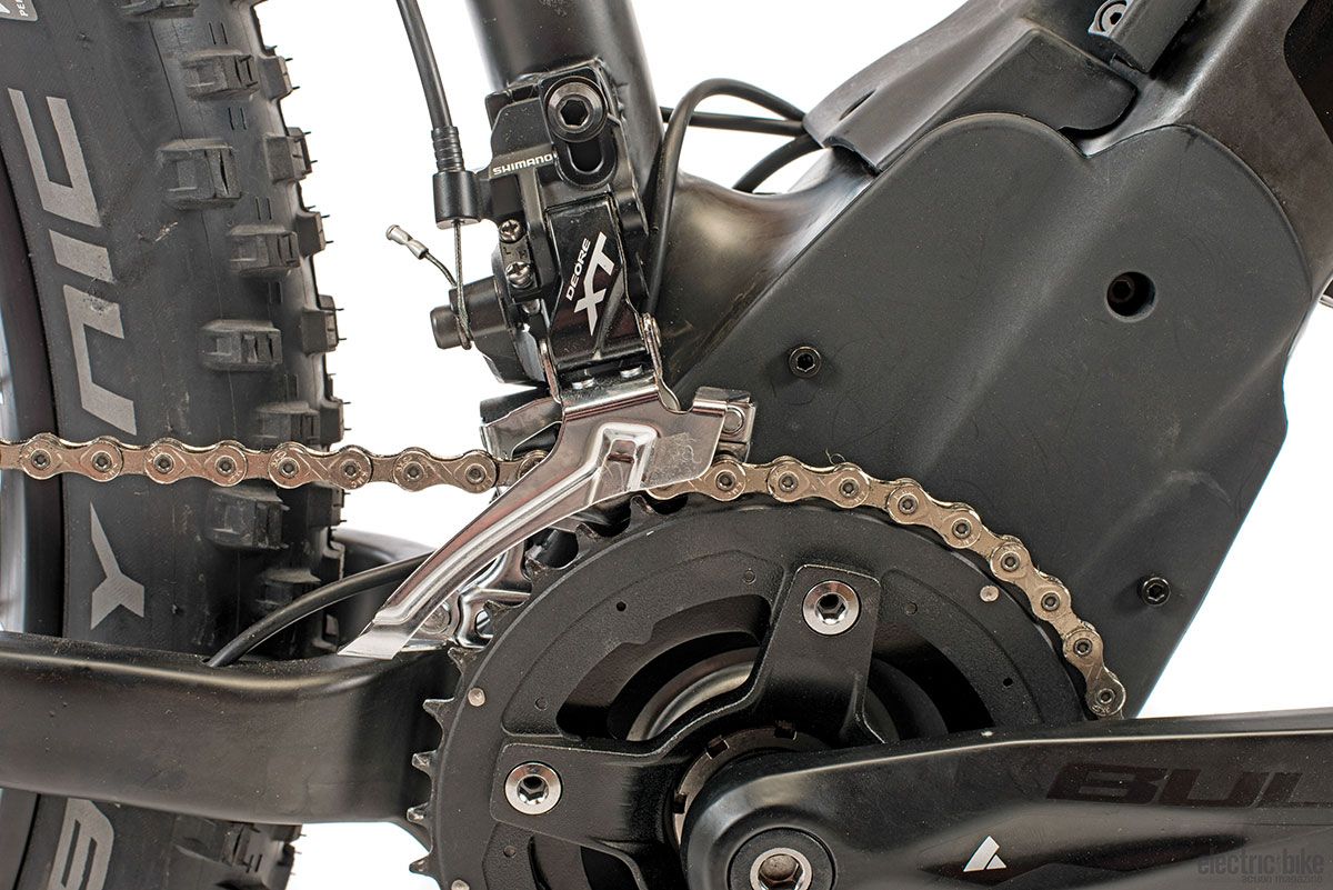 Oh, there's a front derailleur? We hadn't noticed, nor did we need it.