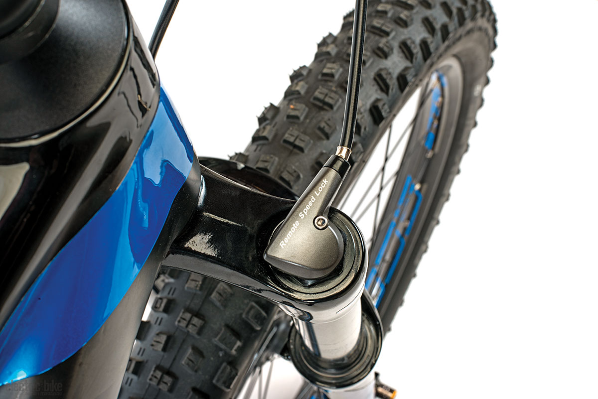 The Schwalbe Nobby Nic tires are among the grippiest tires we've ridden.
