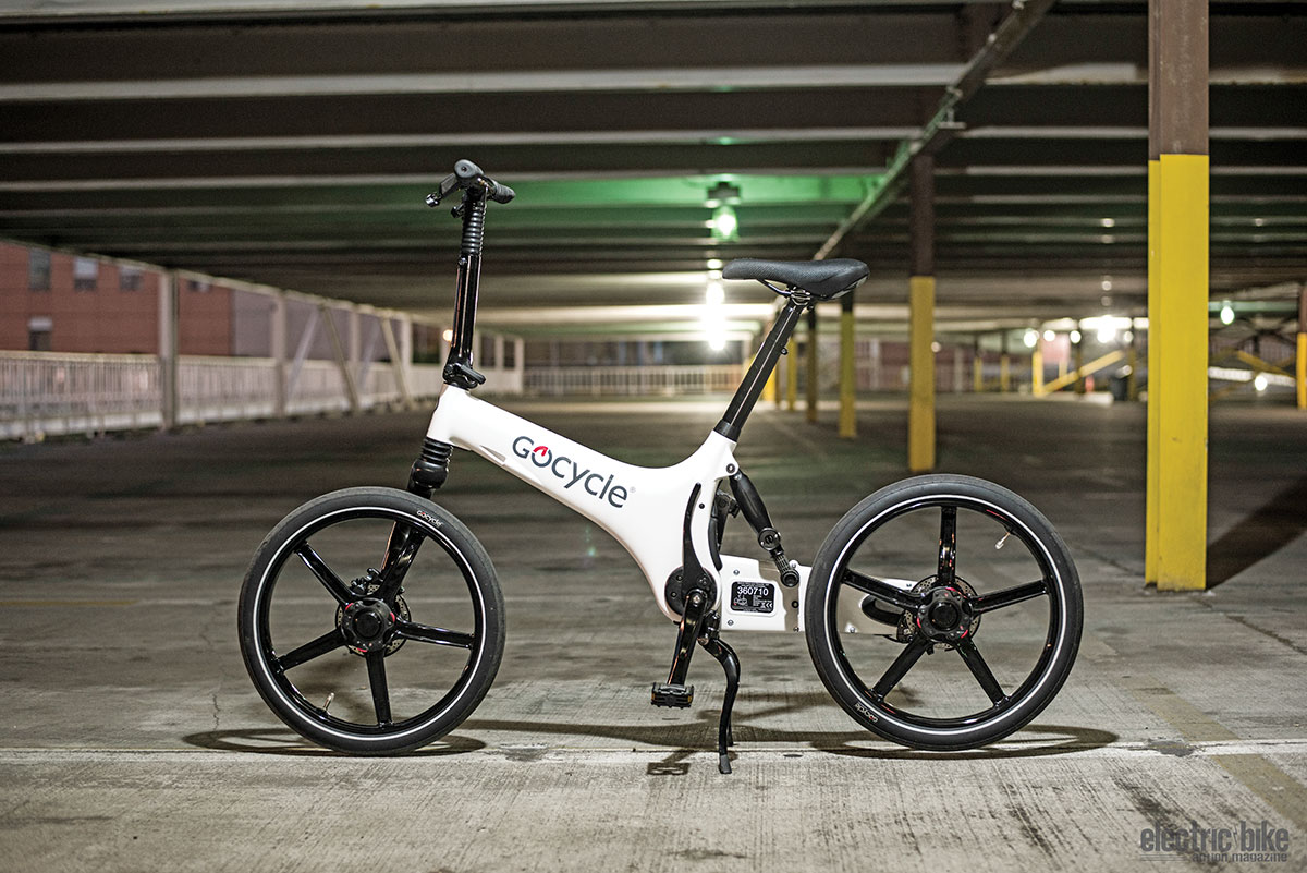 The Gocycle looks amazing just standing still.