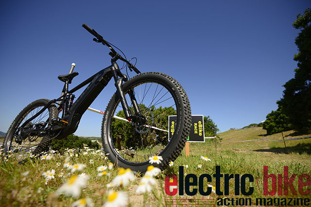 Bulls E-Core Electric Mountain Bike with Shimano Steps E8000 Motor full suspension exclusive first ride review