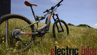 Cannondale Moterra electric mountain bike first ride review test