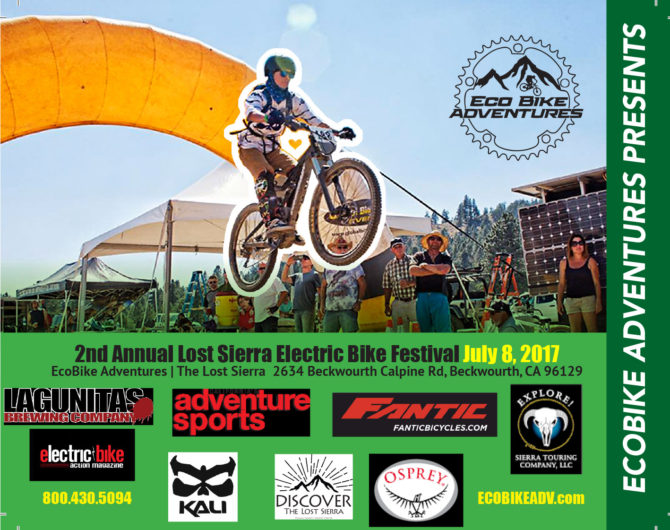 LOST SIERRA electric bike FESTIVAL