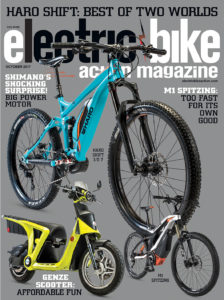 On The Cover Haro S 2018 Shift Plus I O 7 Featuring All New Shimano Steps E8000 Motor Genze 2 0 Electric Scooter With A Huge Cargo Bay Photos By