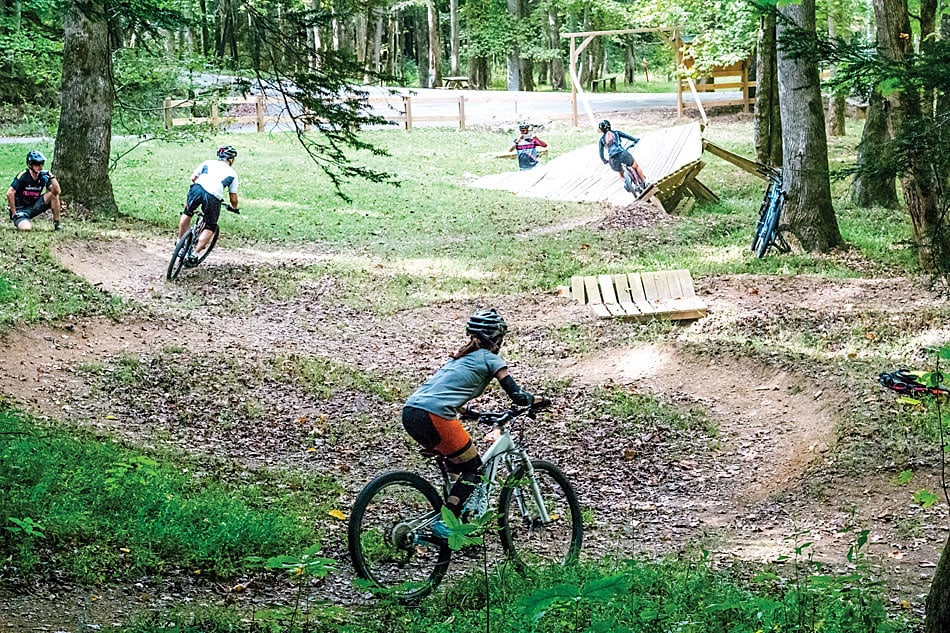 2f3bc77bef6 Learning Ninja Skills at Mulberry Gap | Electric Bike Action