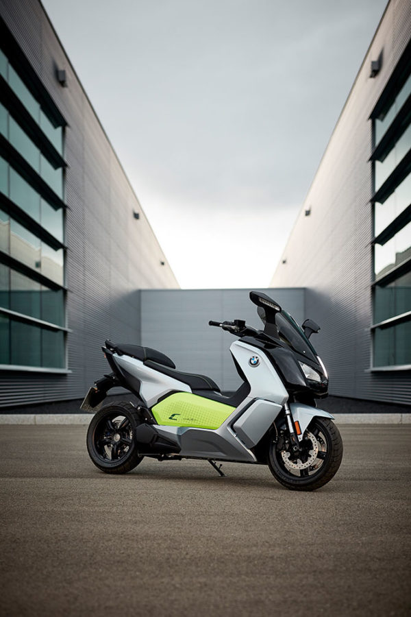 BMW C Evolution electric motorcycle scooter