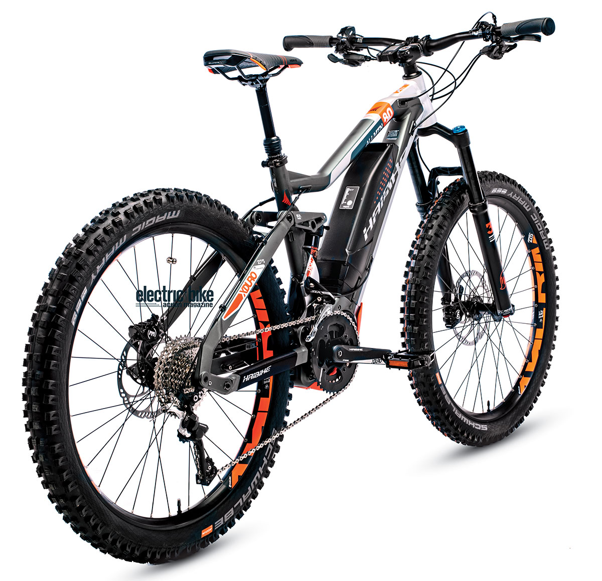 355ce335be7 The Haibike AllMtn has everything you d expect in a good all-mountain bike  and some you might not. It features the Yamaha PW-X motor