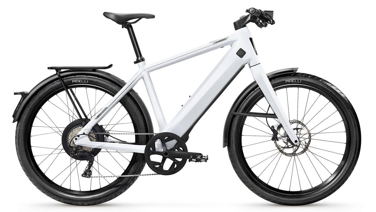 stromer st3 high tech e bike electric bike action. Black Bedroom Furniture Sets. Home Design Ideas