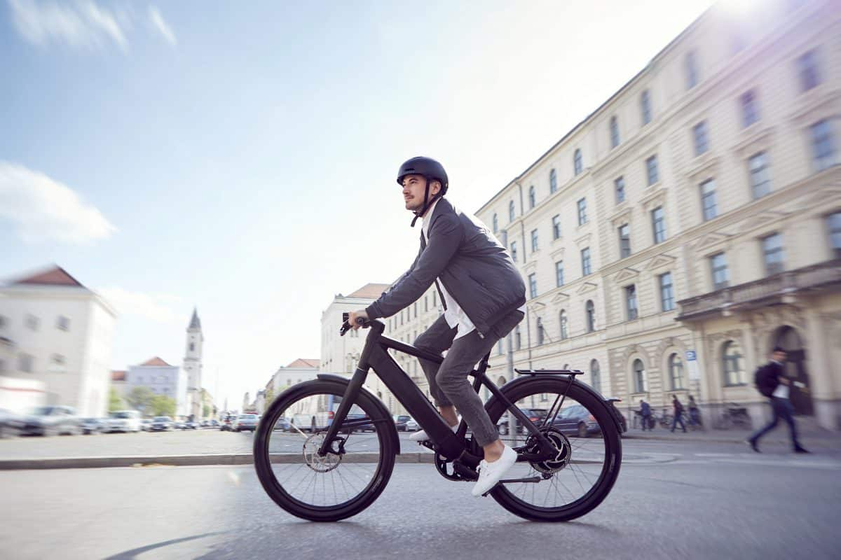 Stromer St3 High Tech E Bike Electric Bike Action
