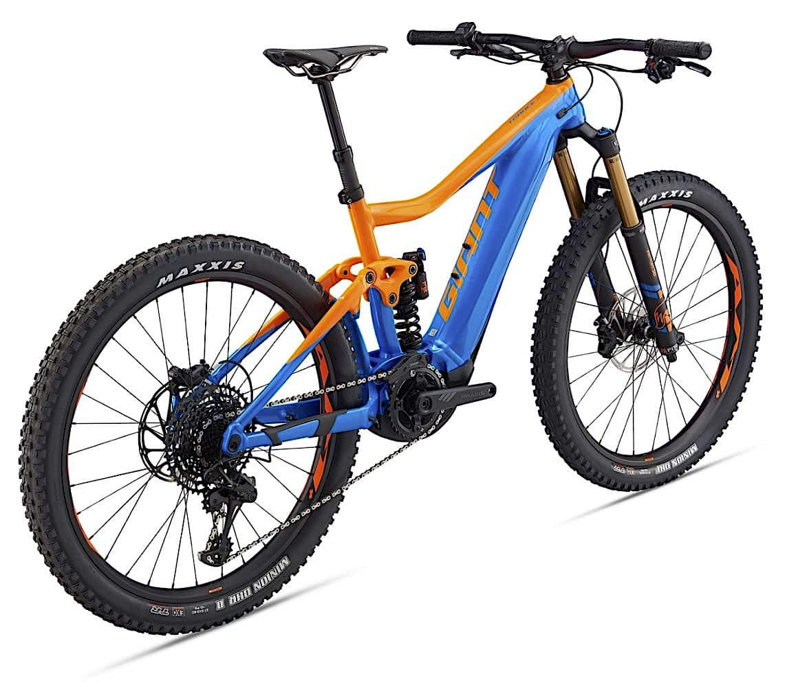 giant bicycles 2019 trance e electric bike action. Black Bedroom Furniture Sets. Home Design Ideas